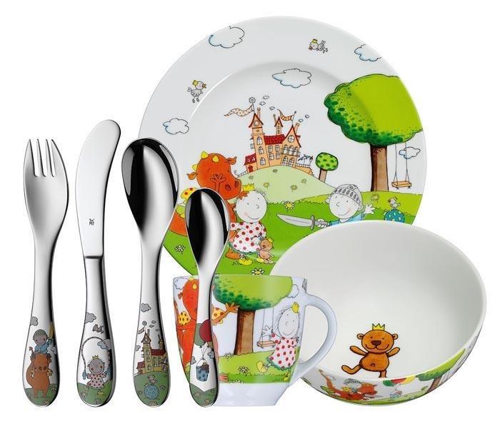 Zestaw Obiadowy Dla Dzieci 7 El The Peppels Wmf