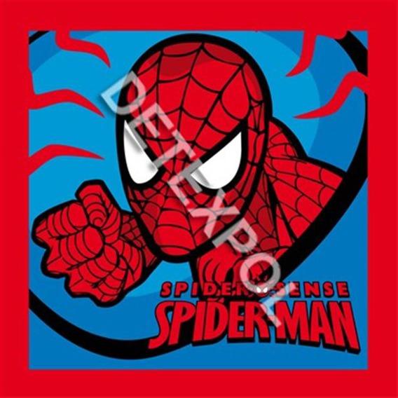 Bajkowy ręcznik 30x30 Detexpol Spiderman 02