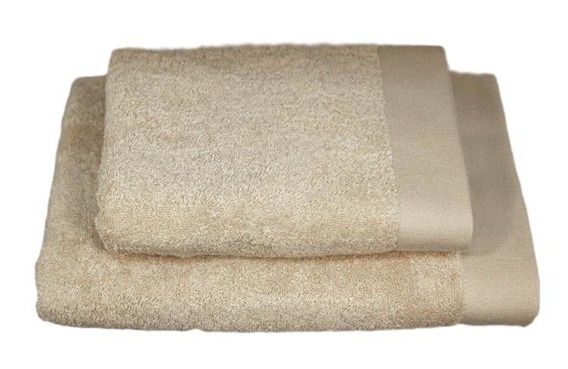 Bamboo Style - Beż  Ręcznik bambusowy ANDROPOL