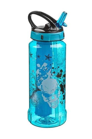 Bidon - butelka do picia z motywem RIGID Cool Gear, 4 kolory niebieski
