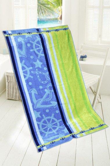 Blue Lagune ręcznik plażowy 85x170 Greno