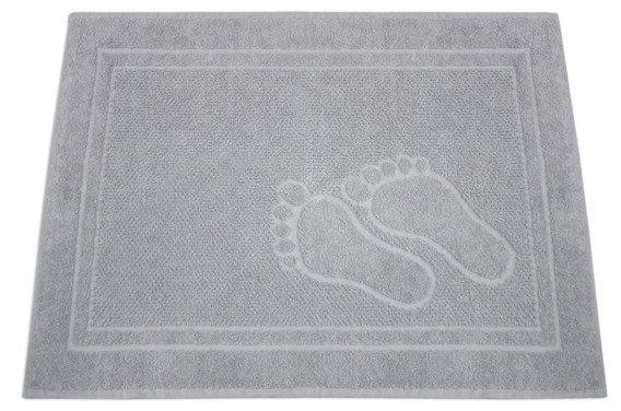 Dywanik Łazienkowy Greno Feet 50X70 Jasny Popielaty