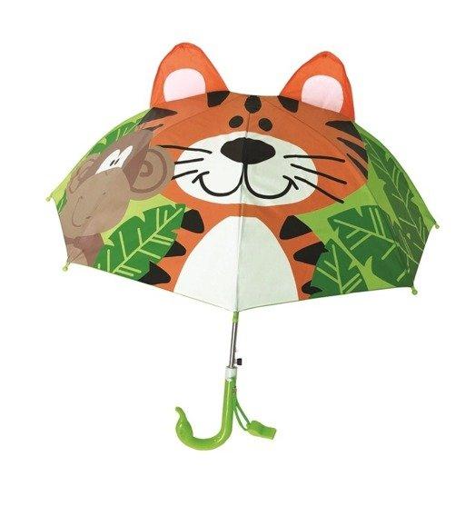 Dziecięcy parasol 3D z gwizdkiem, mix wzorów