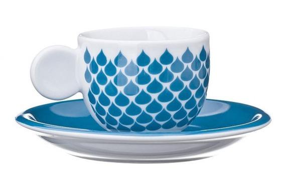Filiżanka do espresso GOCCE United Colors of Benetton, 4 kolory niebieski