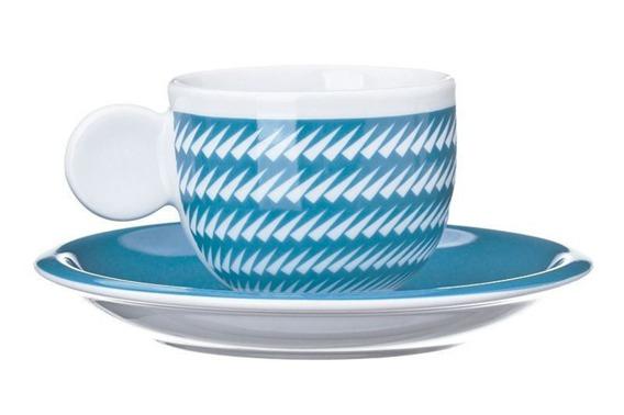 Filiżanka do espresso ZANNE United Colors of Benetton, 4 kolory niebieski