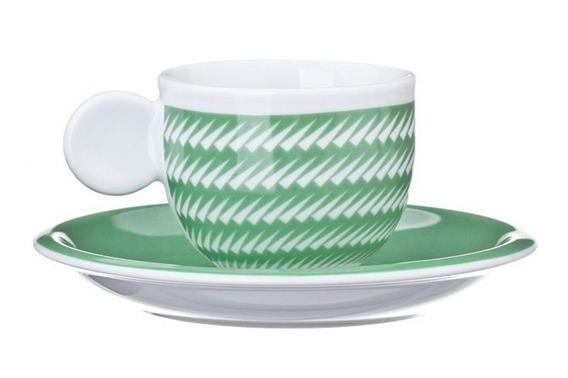 Filiżanka do espresso ZANNE United Colors of Benetton, 4 kolory zielony