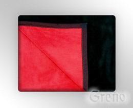 GLAMOUR Koc, 7 kolorów Greno czerwono-czarny