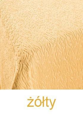 Koc IBERIA DE LUX, 11 kolorów Greno żółty
