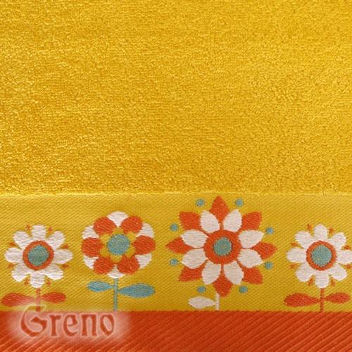 Ręcznik BORNEO NEW Greno żółty