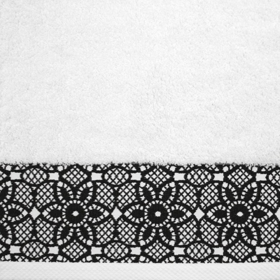 Ręcznik Bawełniany ILLUSION Greno biały