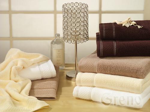 Ręcznik Bawełniany SPA LOVER GRENO beżowy