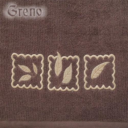 Ręcznik GRACJA Greno czekoladowy
