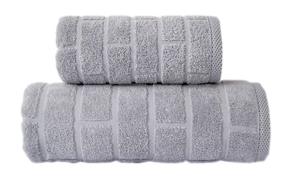 Ręcznik Greno Brick Jasny Popiel