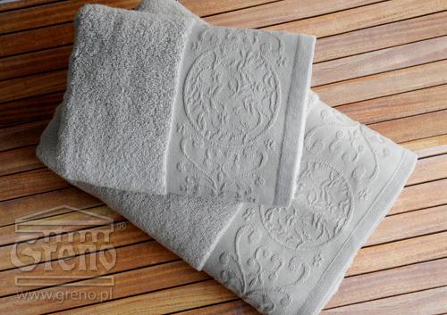 Ręcznik KATE Greno stalowy