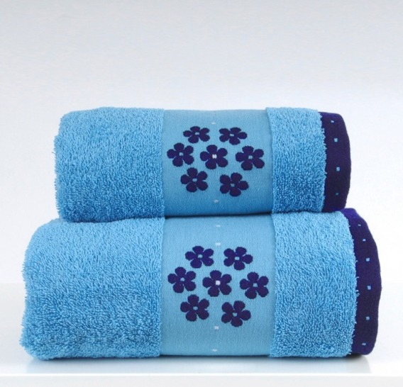 Ręcznik LE GRAND Greno turkusowy