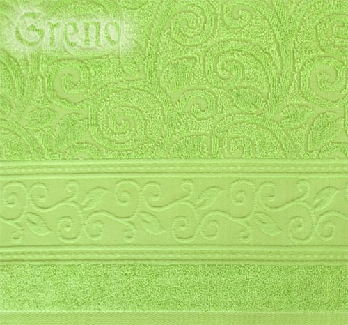 Ręcznik TIVOLI Greno pistacjowy