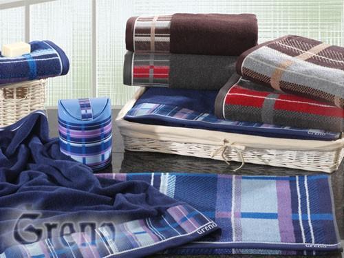 Ręcznik TOM Greno stalowy