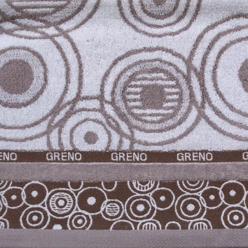 Ręcznik URODA Greno stalowy