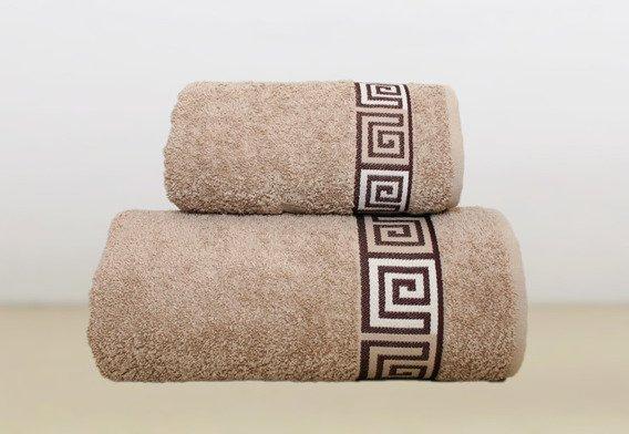 Ręcznik bawełniany DUNAJ Frotex beżowy