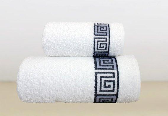 Ręcznik bawełniany DUNAJ Frotex biały