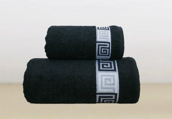 Ręcznik bawełniany DUNAJ Frotex czarny