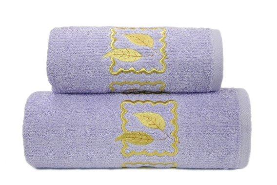 Ręcznik bawełniany GRACJA Greno lila