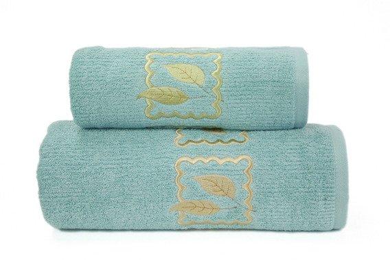 Ręcznik bawełniany GRACJA Greno pistacjowy