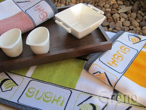 Ręcznik kuchenny SUSHI Greno żółty