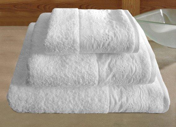 Royal Biały ręcznik bawełniany GRENO