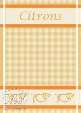 Ściereczki kuchenne EXCLUSIVE Greno, 20 wzorów citrons