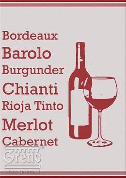 Ściereczki kuchenne EXCLUSIVE Greno, 20 wzorów wine